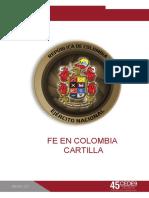 CARTILLA FE EN COLOMBIA