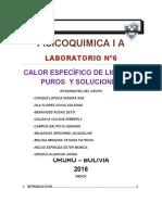 RESUMEN CALOR ESPECÍFICO DE LIQUIDOS Y SOLUCIONES (2)