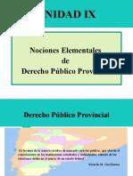 Unidad IX - Derecho Público Provincial y Municipal