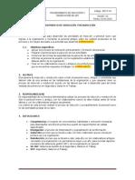 SST-P-04 PROCEDIMIENTO DE INDUCCION Y REINDUCCION