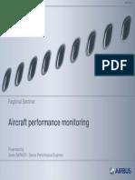 Aircraft performance monitoring