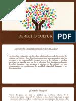 DERECHO CULTURAL