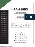 ROTEL RA-985BX.pdf