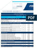 Lista de precios AVATEC