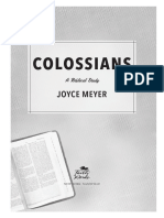 Colossians - Joyce Meyer