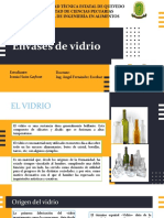 Envases de Vidrio- Ivania Haón