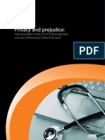 Privacy and Prejudice EPR Views