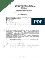 GUIA  DE PROFUNDIZACION  MATEMATICAS 4º SEDE  11