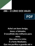 O lírio dos vales (Hino Metodista 286).pptx