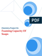 124725129-Chemistry-Project-on-Foaming-capacity-of-soaps
