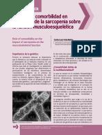 Vela-Barba2014 - Papel de la comorbilidad en el impacto de la sarcopenia sobre la función musculoesquelética