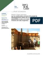 Rapport de Mission Olivia / TC / ASF / 2009