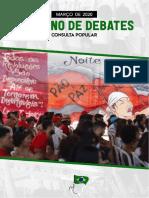 Caderno ciclo de debates