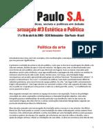 Jacques Rancière, Política da Arte.pdf