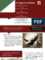 ESPÍRITUS MALVADOS