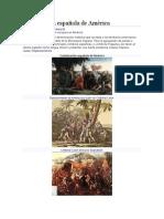 Colonización española de América majo