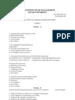 Model Paper Syllabus Gim