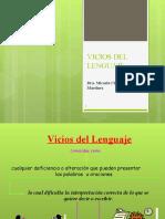 COMUNICACION II UNIDAD DE APRENDIZAJE  V (vicios del lenguaje)