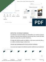 Defectos en Piezas Fundidas _ Fundición (metalurgia) _ Rieles