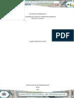 INFORME DE TRASLADO TRANSPORTE INTERNO DE QUÍMICOS