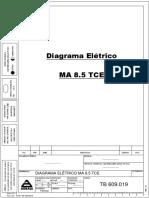 Diagrama  Eletrico Chassi MA 8.5 TCE