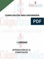 COMPUTACIÓN PARA ENFERMERÍA- I UNIDAD