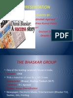 Dainik Bhaskar Final Presentation