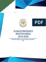 Plan-Operativo-Anual-2019 Inspectoría General del Sistema Nacional de Seguridad