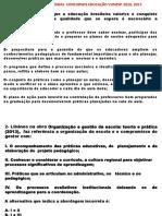 Simulado_LIBÂNEO J C. e SILVA, T T