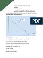 ESCENARIO 2 FRONTERA DE POSIBILIDADES DE PRODUCCIÓN