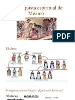 La conquista espiritual de México