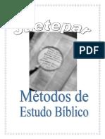 metodos de estudos biblicos