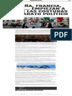 España, Francia, Italia… empiezan a saltar las costuras del aparato político
