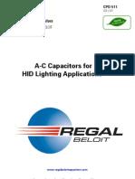 Capacitor Spec