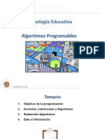 Algoritmos programables