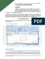 Excel cuadernillo parte 1 -3º año