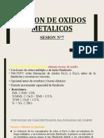 SESION N°7 - FUSION DE OXIDOS METALICOS