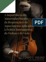 Corpo e Violino (Conciência Corporal)