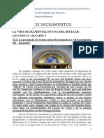 12.3. La presencia de Cristo en los Sacramentos y el Sacramento del hermano