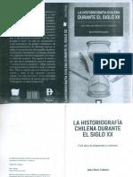 La Historiografía Chilena en El Siglo XX - Julio Pinto