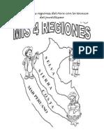 Pintamos las regiones del Perú con la técnica del puntillismo
