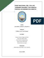 Trabajo N°1. Folklore de la Costa Peruana por Departamentos