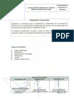 14 PE-GR-PR-015 Identificación de Sistemas de Tuberías mediante Código de Colores