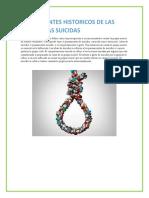 TENDENCIAS SUICIDAS