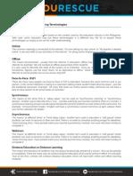 EduRescue - PUGOL101 - Terminology Handout for Parents