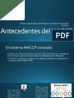 Antecedentes del HACCP