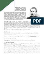 Literatura - Biografía de Jose Martí