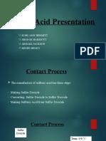 Sulfuric Acid Presentation