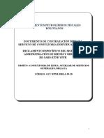6 DCD Consultoria Individual AUXILIAR DE SERV GRALES