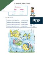 Taller práctico del Genero y Número Español.docx